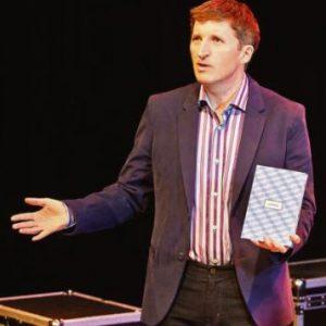 Dr. Mark Rowe presents his wellbeing seminar