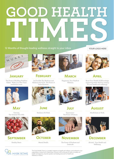 Good Health Times Topics